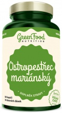 GreenFood Ostropestřec Mariánský 60 kapslí