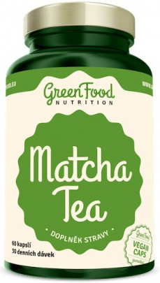 GreenFood Matcha Tea 60 kapslí