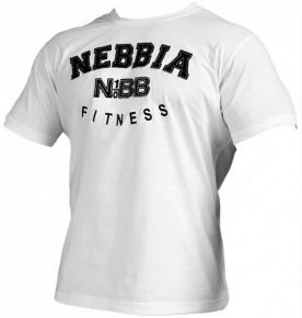 Nebbia Fitness Top krátký 783 bílý