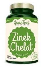 Green Food Zinek Chelát 60 kapslí