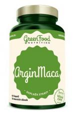 Green Food ArginMaca 60 kapslí