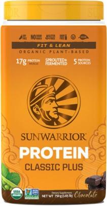 Sunwarrior Protein Classic Plus 750 g