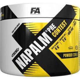 FA Xtreme Napalm Pre-Contest 224 g - borůvka