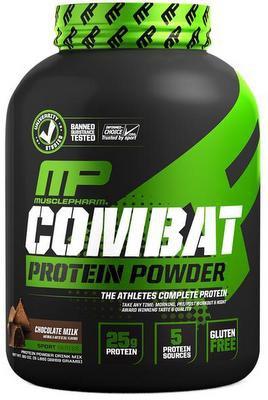 MusclePharm Combat Powder 1800 g - jahoda