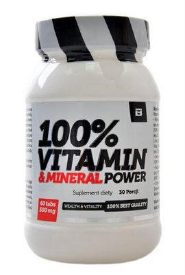 BS Blade 100% Vitamin & Mineral Power 60 tablet
