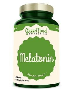 GreenFood Melatonin 60 kapslí