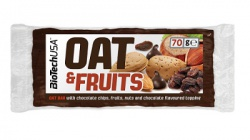 BiotechUSA Oat and fruits 70 g