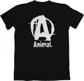Universal Animal pánské tričko černé