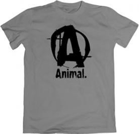 Universal Animal pánské tričko šedé