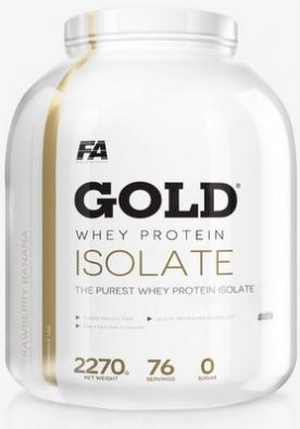FA Gold Whey Protein Isolate 2270g - čokoláda VÝPRODEJ
