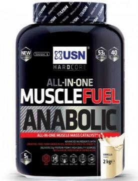 USN Muscle Fuel anabolic 2000g - vanilka PROŠLÉ DMT