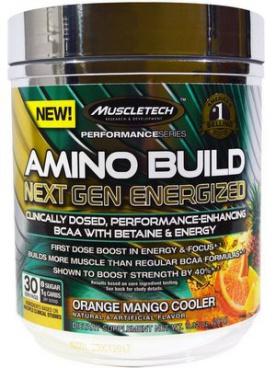 Muscletech Amino Build Next Gen Energized 281 g VÝPRODEJ/PROŠLÉ DMT