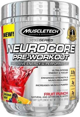 MuscleTech NeuroCore Pre-Workout 222 g (50 dávek)