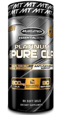 MuscleTech Platinum Pure CLA 90 kapslí PROŠLÉ DMT