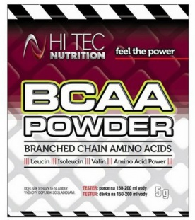 HiTec Nutrition BCAA Powder 5 g tester
