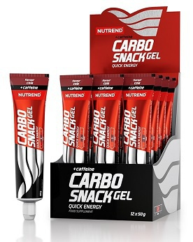 Nutrend Carbosnack with caffeine tuba 50 g