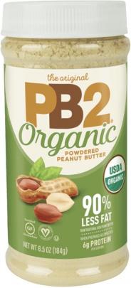 Bell Plantation PB2 arašídové máslo v prášku ORGANIC 184g VÝPRODEJ