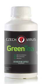 Czech Virus Green Tea 100 kapslí VÝPRODEJ