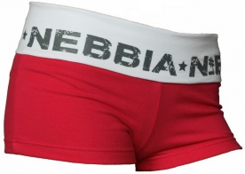 Nebbia Elastické šortky 645 růžovo / bílé
