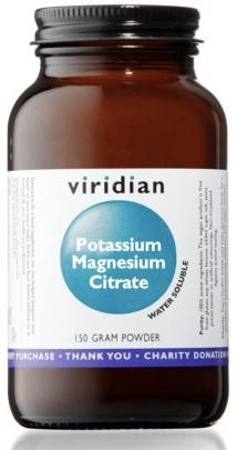 Viridian Potassium Magnesium Citrate 150g