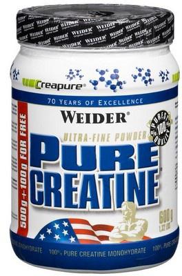 Weider Pure Creatine 600 g VÝPRODEJ