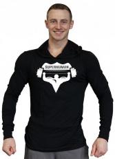 Titánus Tričko s kapucí Super Human velké logo