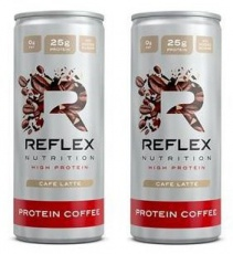 Reflex Protein Coffee 250 ml 1 + 1 ZDARMA