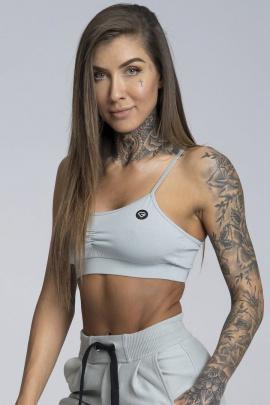 Gym Glamour Podprsenka Simply Grey