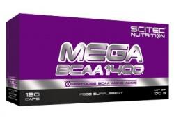 Scitec Mega BCAA 1400 120 kapslí