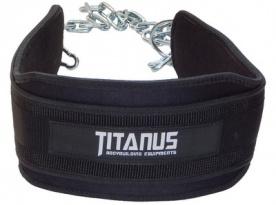 Titánus pás s dopomocí s řetězem - Dip Belt