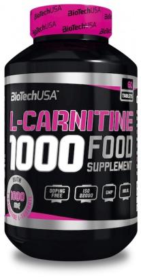BioTechUSA L-Carnitine 1000mg 60 tablet