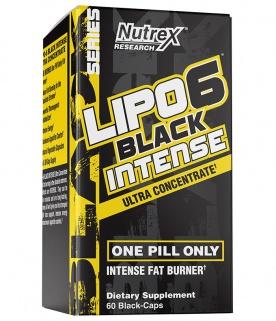 Nutrex Lipo 6 Black Intense Ultra Concentrate 60 kapslí