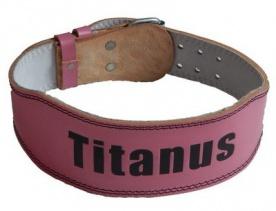 Titánus fitness dámsky kožený opasek