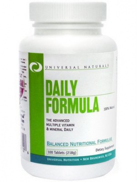 Universal Daily Formula 100 tablet