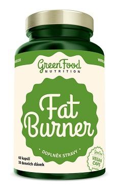 GreenFood Fat Burner 60 kapslí