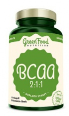 Green Food BCAA 2:1:1 120 kapslí