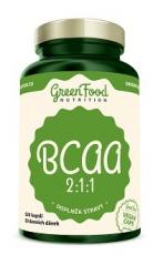 GreenFood BCAA 2:1:1 120 kapslí