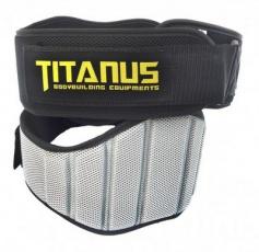 Titánus Fitness opasek nylonový černý