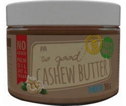 FA So Good Cashew Butter 350 g - crunchy PROŠLÉ DMT