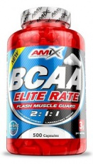 Amix BCAA Elite Rate 2:1:1 500 kapslí