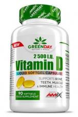 Amix Vitamin D 2500 I.U. 90 kapslí