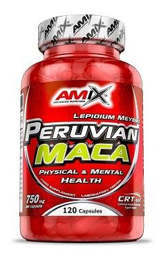 Amix Peruvian Maca 120 kapslí
