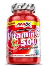 Amix Vitamin C 500 mg 125 kapslí
