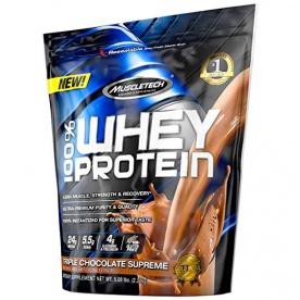 Muscletech 100 % Whey Protein Powder 2270 g