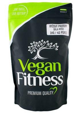 Vegan Fitness Rýžový protein (bílá rýže) 1000 g PROŠLÉ DMT