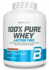 BioTechUSA 100% Pure Whey Lactose Free 2270 g