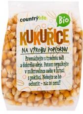Country life BIO kukuřice na výrobu popcornu 200g