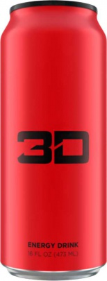 3D Energy drinks 473ml