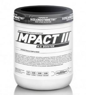 SizeAndSymmetry Impact III N.O. 400g - višeň PROŠLÉ DMT 11/19