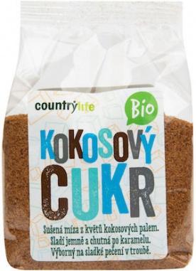 Country life BIO Kokosový cukr 250g